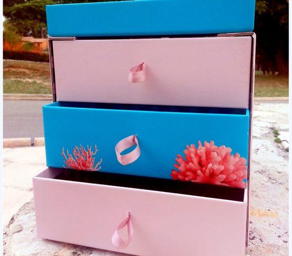 DIY box rangement