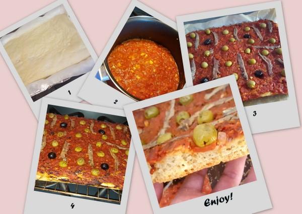 Pissaladière (anchovy pie) recipe