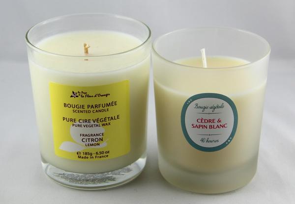bougies fraîches