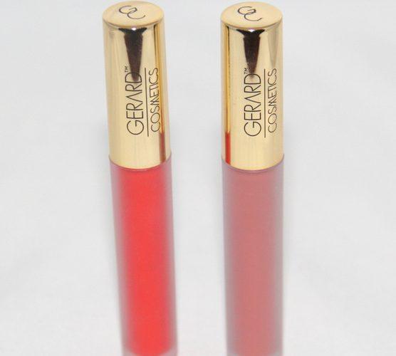 Hydra-Matte Liquid Lipsticks Gerard Cosmetics