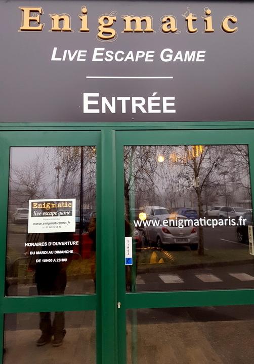 enigmatic escape game