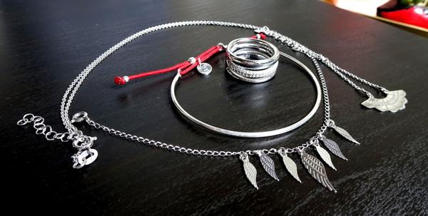collier bracelets bague