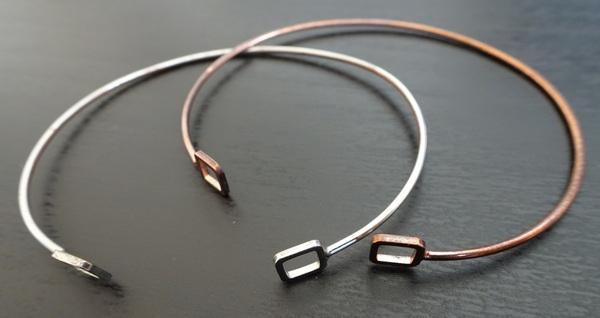bracelets carrés