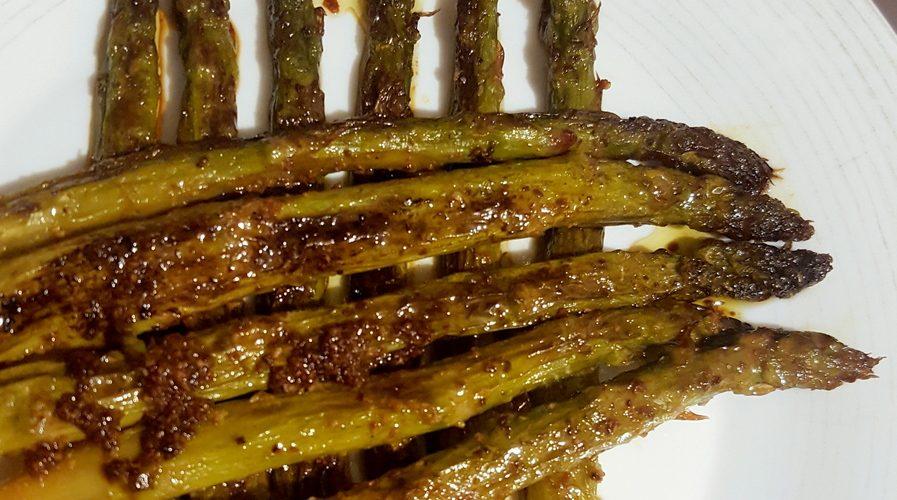recette asperges grillées