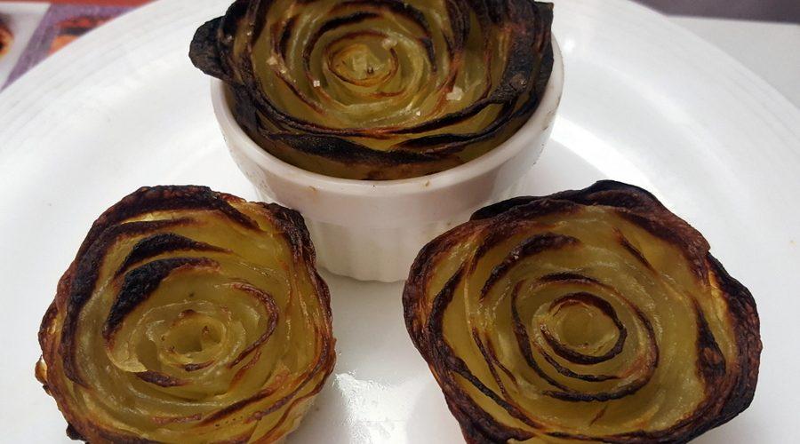 recette rose pomme de terre