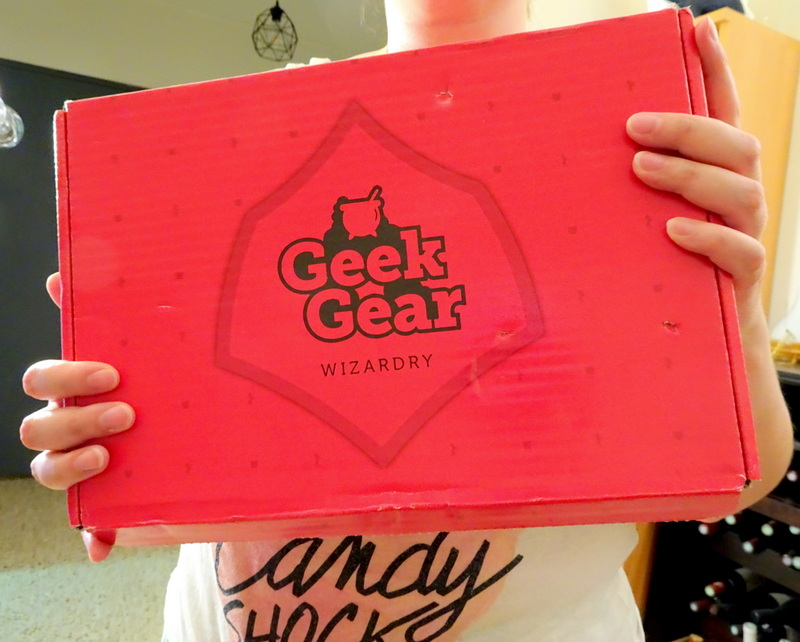World of Wizardry Geek Gear box