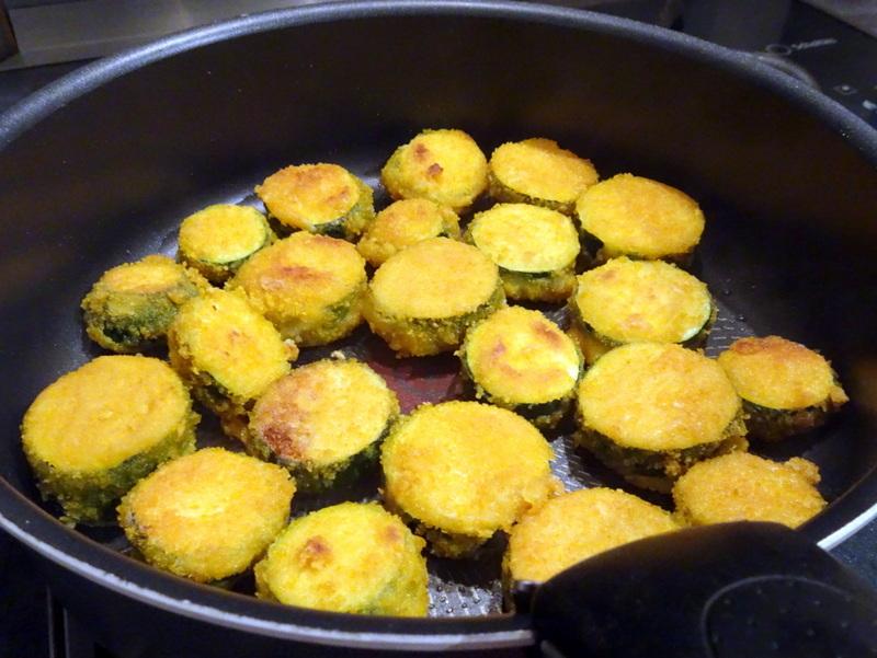recette courgettes panées vegan