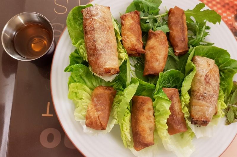 recette nêms faciles sans friteuse