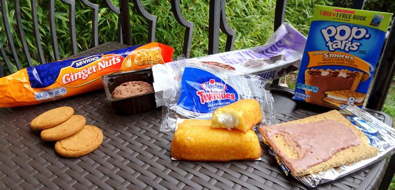 american snacks